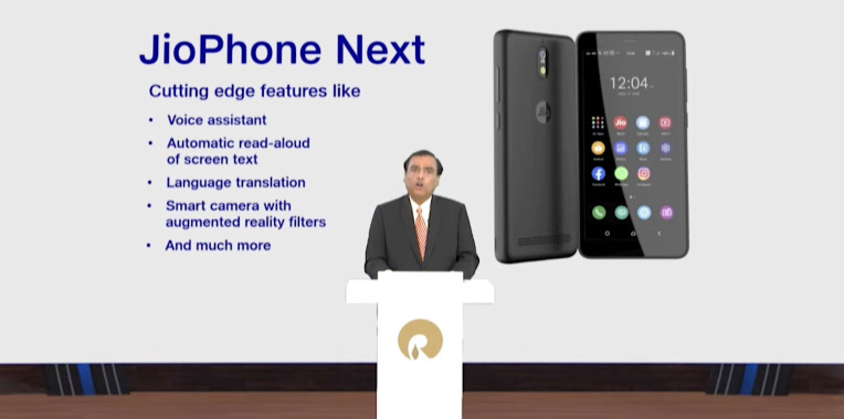 Google and Jio Platforms unveil 'extremely optimized Android' phone for Indian consumers